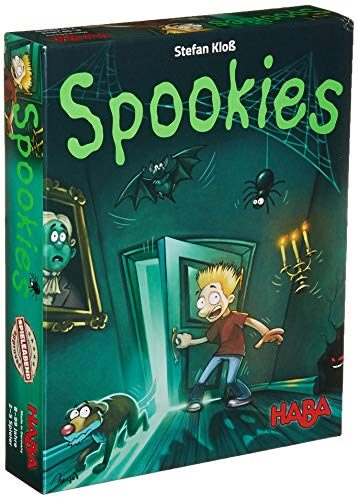 HABA Spookies - A Dice Rolling, Point Collecting, Push Your Luck Game for Ages 8+ (Made in Germany)