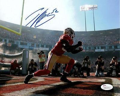Patrick Willis Signed Photo - 8x10 intro 13851 - JSA Certified - Autographed NFL Photos