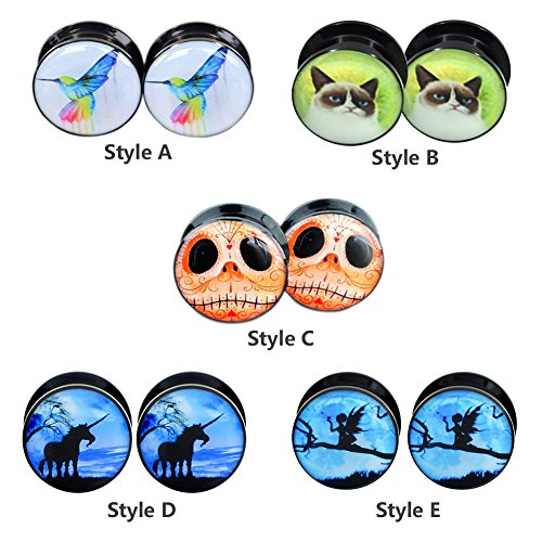 Jewelry Acrylic Animals Screwd Tunnels product image