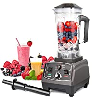 Professional Blender MengK 1400W High Speed Electric Total Nutrition Food Processors with 67oz BPA-Free Pitcher for Ice Fruits Vegetables Smoothies Soups Mayonnaise, etc - (Commercial / Kitchen)…