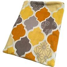 Multi Color Rooster Tessellation Fleece Seamless Snuggle Sack