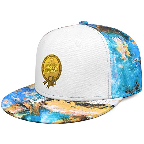 GuLuo Great American Beer Festival Gold Medal Flatbrim Baseball Cap Camo Awesome Adjustable Fits Fishing Hat