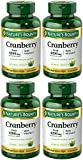 Cranberry with VIT C 4200 mg, 250 Softgels (4 Bottles)