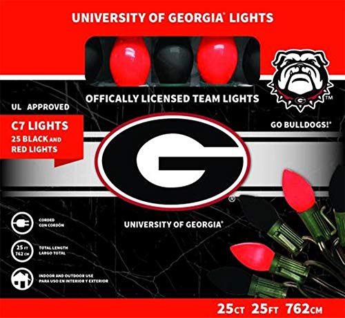 ficially Licensed College Christmas Lights (University of Georgia) ()