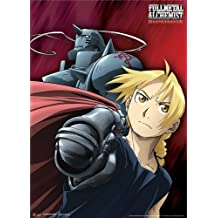 Great Eastern Entertainment Fullmetal Alchemist Brotherhood The Elric Brothers Wall Scroll, 33 by 44-Inch