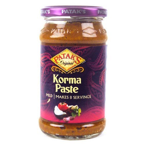 Pataks Korma Curry Paste 290g by Patak's