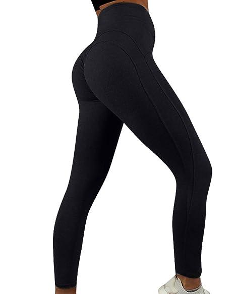 b2ced34ef0 Amazon.com  RUUHEE Women Yoga Pants Butt Lift High Waisted Shapewear  Exercise Leggings  Clothing