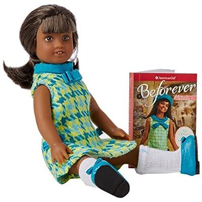 Amer Girl Melody Ellison Mini Doll & Book: Denise Lewis Patrick: Toys & Games