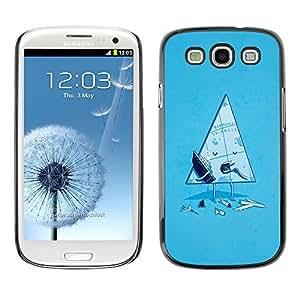 GagaDesign Phone Accessories: Hard Case Cover for Samsung Galaxy S4 - Funny Bermuda Triangle
