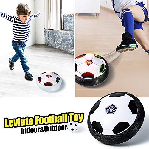 Hover Soccer Ball Set with 2 Golas LOFEE Indoor Sport for 3-12 Year Old Kids Birthday Presnts for Children