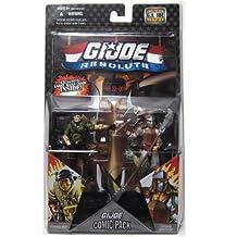 G.I. JOE Hasbro 25th Anniversary 3 3/4 Wave 8 Action Figures Comic Book 2Pack Tunnel Rat vs. Storm Shadow