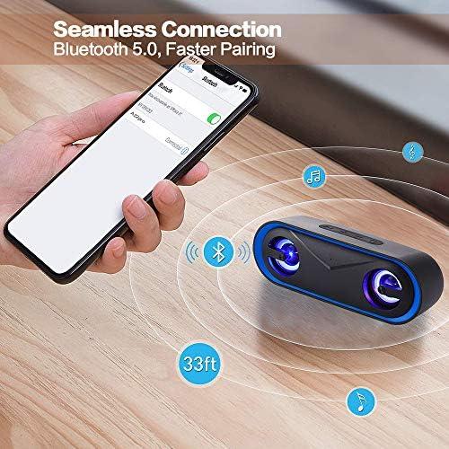 LENRUE A22 PRO Waterproof Bluetooth Speakers V5.0