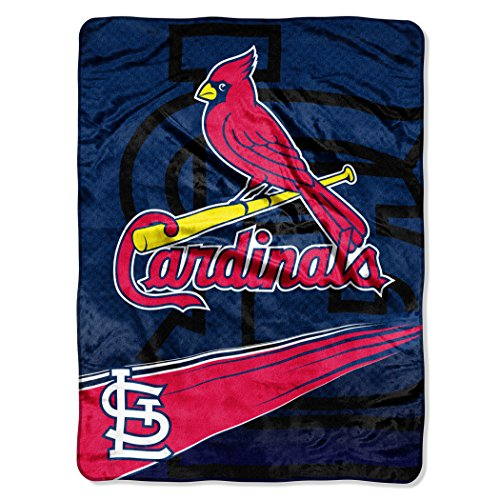 Louis Blanket St (MLB St. Louis Cardinals Speed Plush Raschel Throw Blanket, 60x80-Inch)