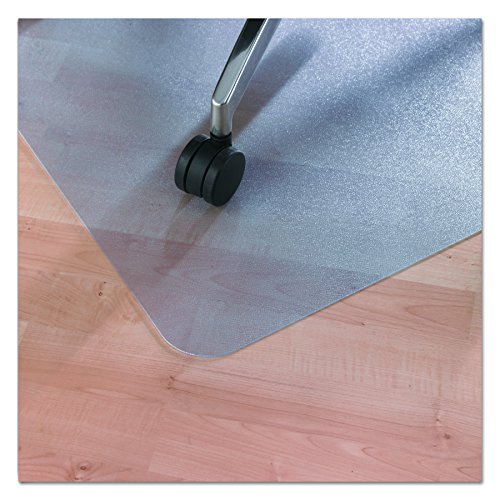 EcoTex Revolutionmat, 100% Recycled Chair Mat for Hard Floors, Rectangular, Tinted, 30'' x 48'' (FCECO3048EP) by Floortex