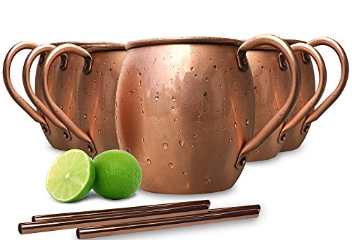 Premium Copper Mugs set Handcrafted