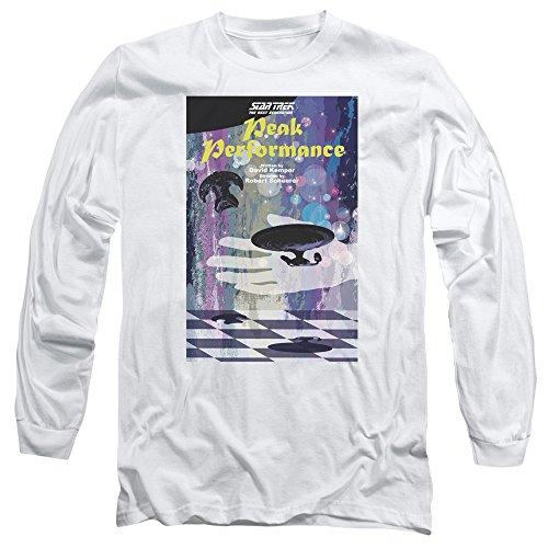 Star Trek: The Next Generation Peak Performance Juan Ortiz Poster Unisex Adult Long-Sleeve T Shirt For Men and Women