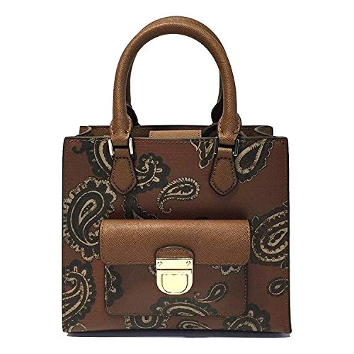 af19f61d67e9 Amazon.com: Michael Kors Bridgette Paisley Messenger Bag (Small, Paisley  Luggage): Shoes