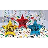 Graduation Ultimate Table Decorating Kit (Multicolor) Party Accessory
