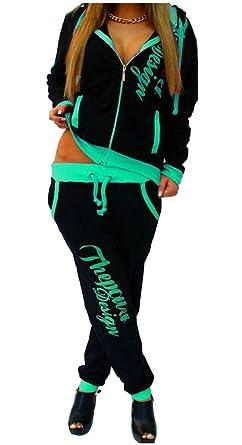 ChengZhong - Conjunto de chándal Deportivo para Mujer con ...