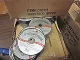 800 ~ 3'' x 1/16 thick x 3/8 AIR METAL CUT OFF WHEEL CUTTING DISC 25,000 RPM CASE