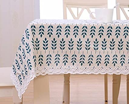 Amazon Com Wfljl Tablecloth Cotton And Linen Small Fresh Japanese