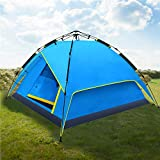 HEYNEMO Waterproof Automatic 3-4 Person Outdoor Camping Tent Backpacking Tent Large Easy Setup Outdoor Sports Tent with Carrying Bag