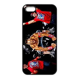 WWE Wrestling Fighter Cenation Black Phone Case for Iphone 5s