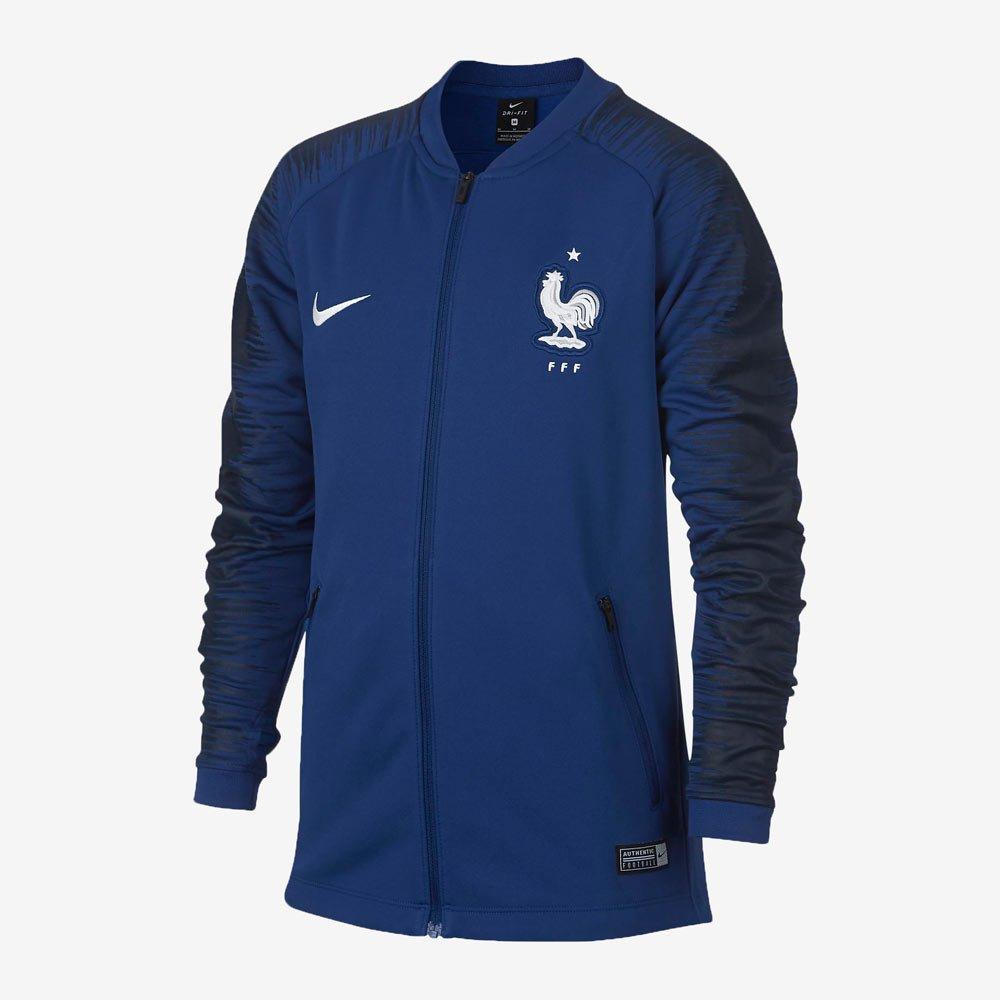 NIKE(ナイキ) ジュニア サッカーウェア FFF アンセム ジャケット フランス代表 893845 B07CP5CFRC 140|455ディープロイヤルブルー 455ディープロイヤルブルー 140