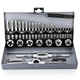 Tap and Die Set Metric Hardened Steel Combination