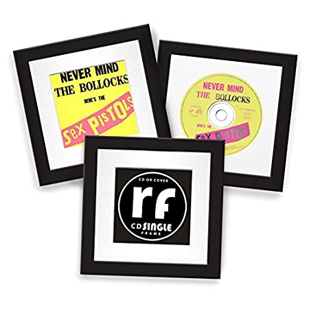 CD Frame Disc or Cover - BLACK - Display the Compact Disc Cover or ...