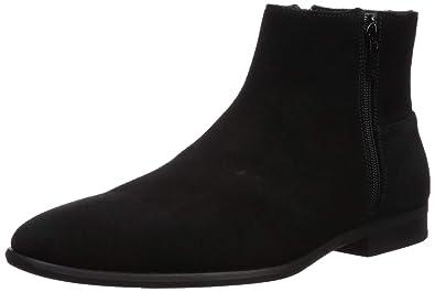 2f7056a3e805 Calvin Klein Men's Luciano Ankle Boot Black Calf Suede 7 ...