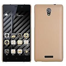 BLU Studio Energy 2 case, KuGi ® High quality ultra-thin PC Hard Case Cover for BLU Studio Energy 2 smartphone. (Gold)