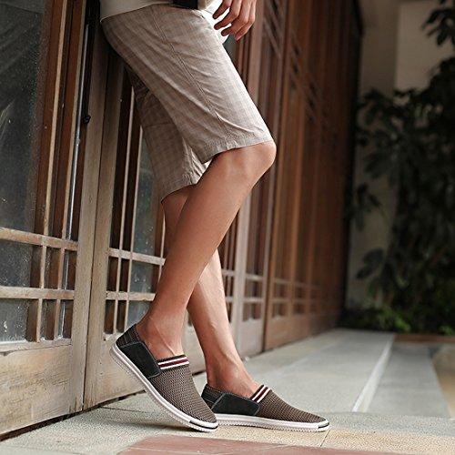 Braun New UK Herren Aqua Schuhe Khaki 39 Größe XCR235 Miyoopark SY7Hnqn