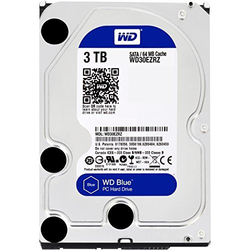 "WD WESTERN DIGITAL BLUE 3 TB WD30EZRZ 3.5"" 5400RPM SATA DESK"