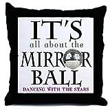 CafePress DWTS Mirror Ball - Decor Throw Pillow (18''x18'')
