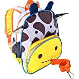 Giraffe Cool Kids Safety Harness Backpack with detachable...