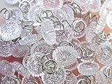 Attmu Clear Heads Twist Pins for