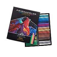 Prismacolor Premier NuPastel Firm Pastel Color Sticks, 48-Count