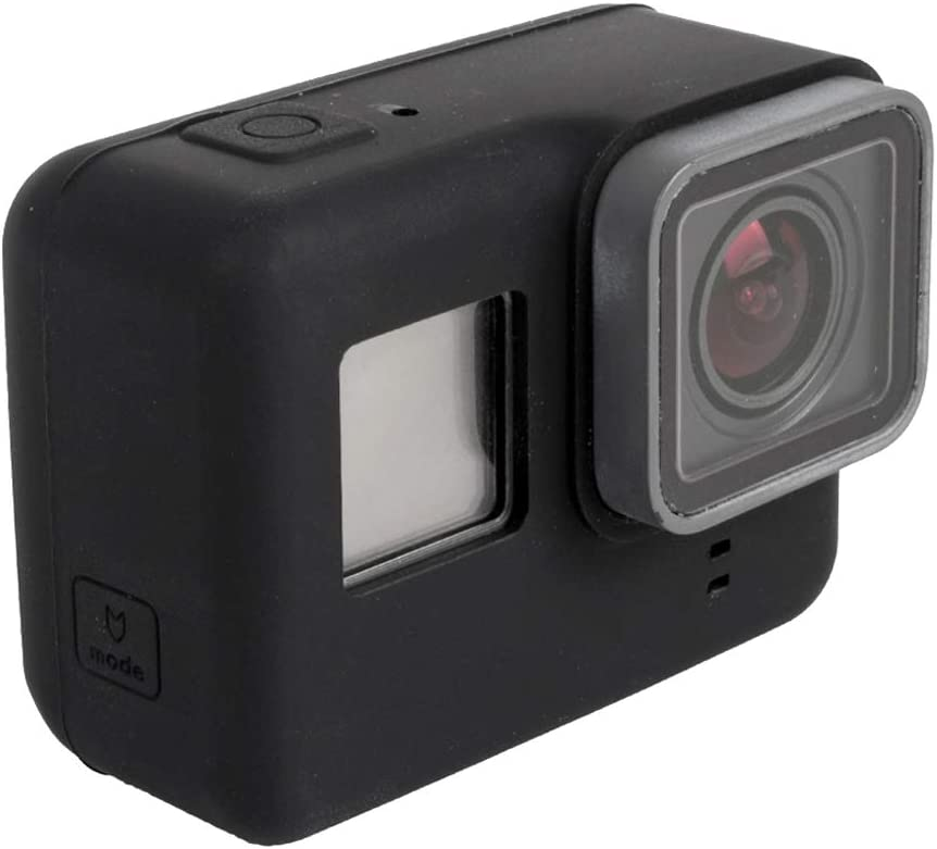 CHENYANTUB Camera Accessories for GoPro HERO5 Silicone Housing Protective Case Cover Shell Color : Black Black