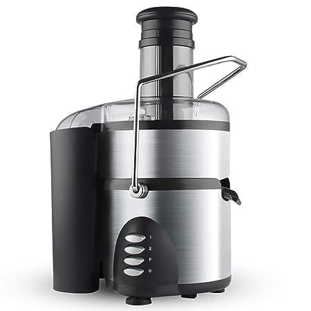 Lndixy Máquina exprimidora de jugos de Frutas Enteras, Extractor Lento sin BPA con Motor silencioso y Cepillo de Limpieza para jugos de Frutas y Verduras ...