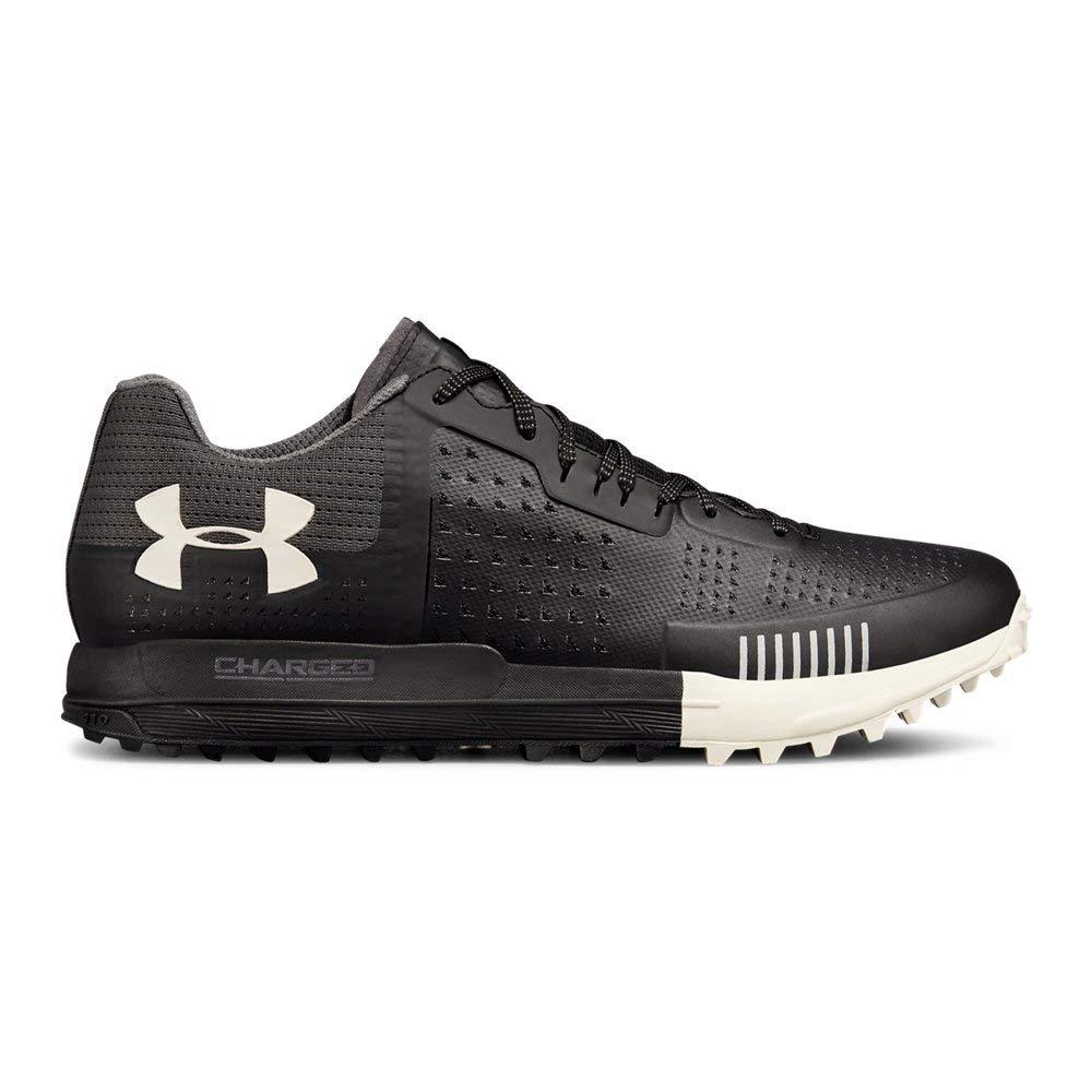Under Armour Men's Horizon RTT Running Shoe,  Black (003)/Ghost Gray, 11