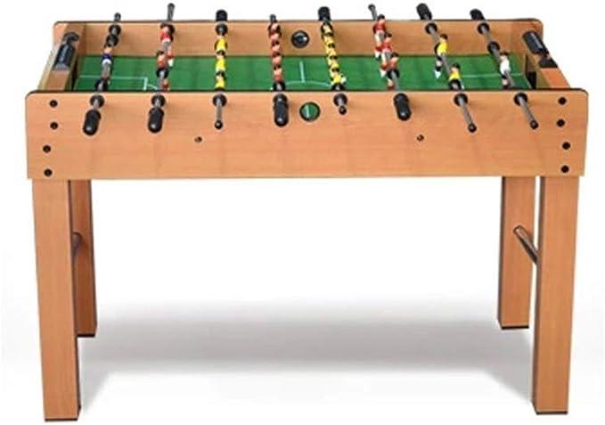 LMCLJJ Mesa de Futbolín Mini Mesa Accesorios de Juego de Billar Tableros de fútbol Juegos de Competencia Juegos Deportivos Noche Familiar: Amazon.es: Hogar