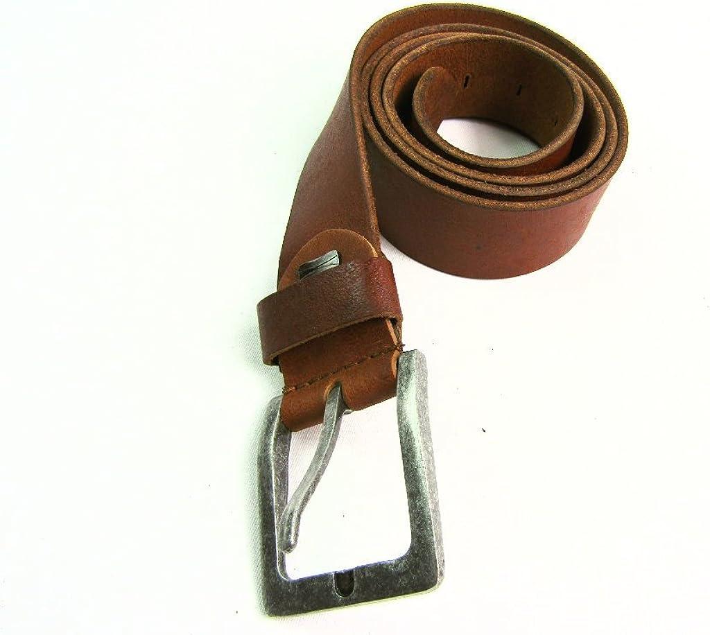 PH Mens Full Belt Silver Buckle 1.5