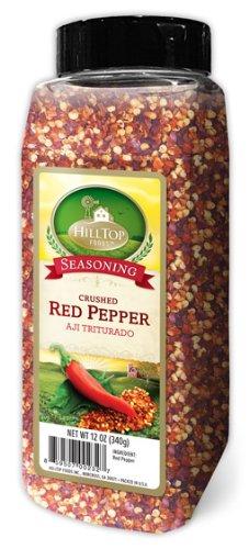 HillTop Foods Crushed Red Pepper, 12 OZ - Hilltop Store