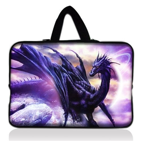 Stone Dragon 13'' 13.3'' inch Notebook Laptop Case Sleeve Carrying bag with Hide Handle for Apple Macbook pro 13 Air 13/ Samsung 900X3 530 535U3/Dell XPS 13 Vostro 3360 inspiron 13/ ASUS UX32 UX31 U36 X35 /SONY SD4/ThinkPad X1 L330 E330 by ColorfulCase (Image #5)