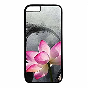 Hard Back Cover Case for iphone 6 Plus,Cool Fashion Black PC Shell Skin for iphone 6 Plus with Black and White Stripe