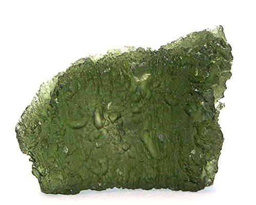 Moldavite Specimen Standing Large 12.9 Grams MOLD16A2608