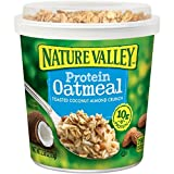 Nature Valley Crunch Protein Oatmeal, Toasted Coconut Almond, 2.58 Ounce (Pack of 12) by Nature Valley