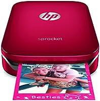 HP Sprocket-Impresora fotográfica portátil roja