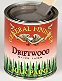 General Finishes PD Milk Paint, 1 pint, Driftwood